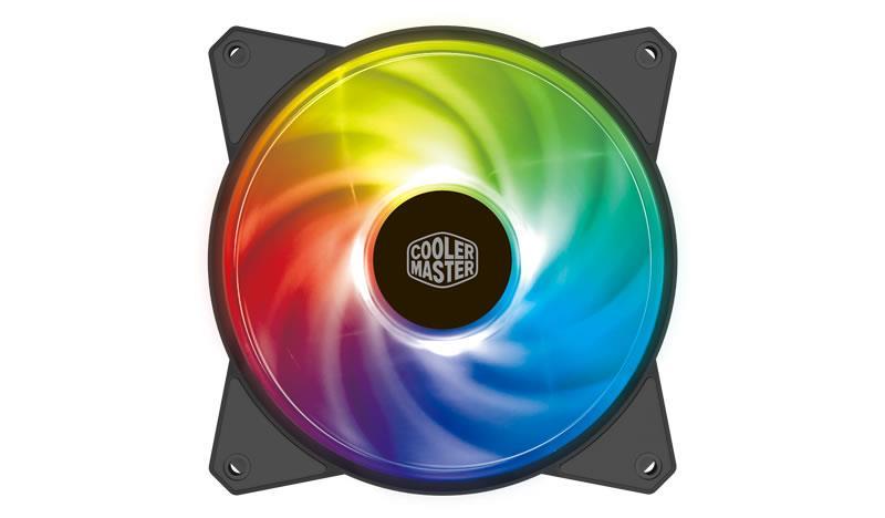 Cooler Master case fan MasterFan MF120R ARGB ventilators