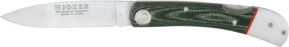 Joker Noz skladany zielono-bialy (ostrze 8 cm) 4972691 dārza nazis