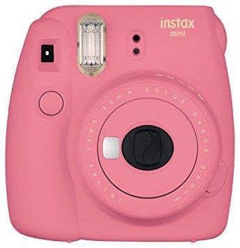 CAMERA INSTANT W/10SH GLOSSY/INSTAX MINI 9 FL.PINK FUJIFILM MINI9FLAMINGOPINK10SH Digitālā kamera