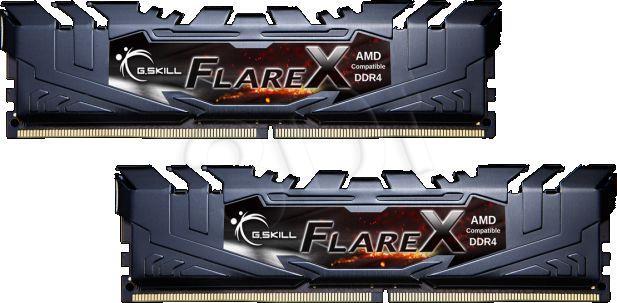 G.Skill FlareX Black 16GB DDR4 Kit 3200 CL15 (2x 8GB Module) operatīvā atmiņa