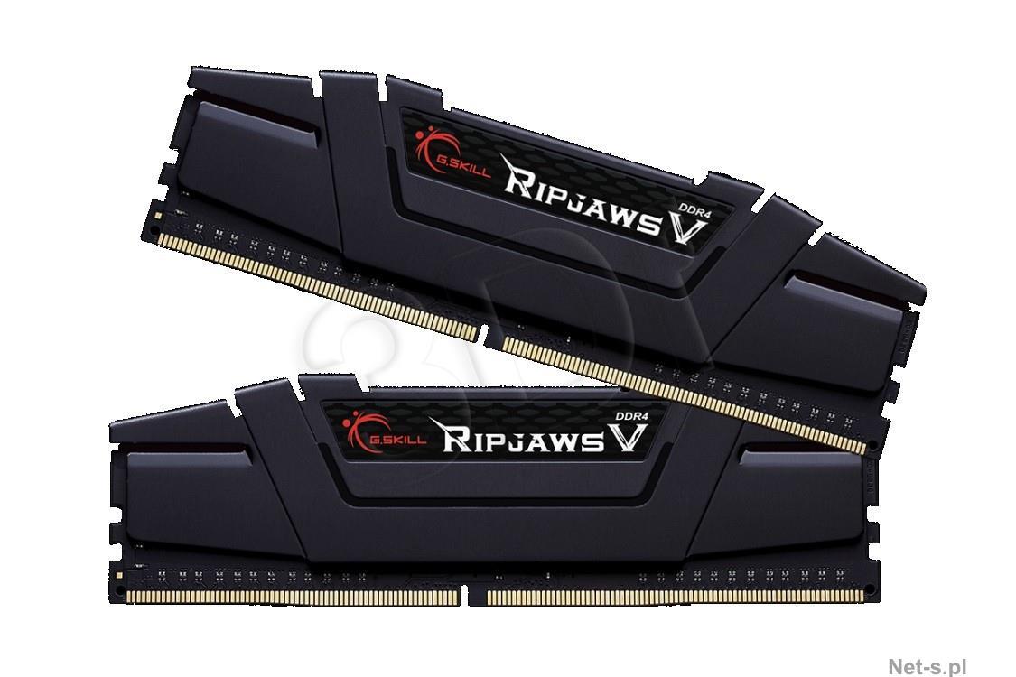 G.SKILL RipjawsV 8GB Black [2x4GB 3200MHz DDR4 CL16 Skylake DIMM] operatīvā atmiņa