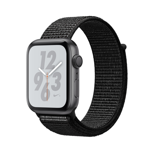 Apple Watch Nike+ Series 4 GPS 44mm Grey Alu Nike Loop Viedais pulkstenis, smartwatch