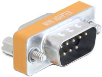 Delock  Null Modem Sub-D 9 pin M/F kabelis, vads