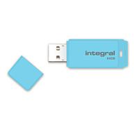 Flashdrive Integral Pastel 64GB, Blue Sky USB Flash atmiņa