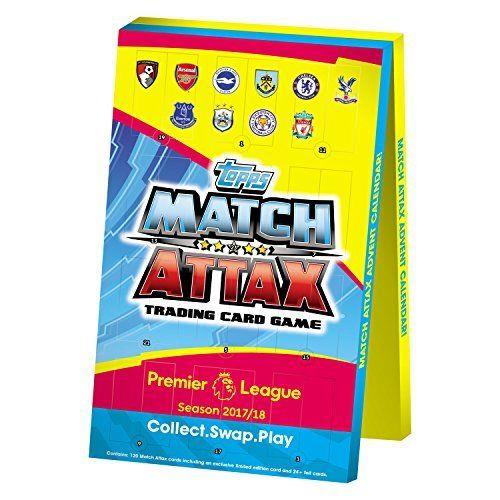 Calendar No name EPL Match Attax 2017/18 Trading Card Advent (multicolour) (poļu valodā)