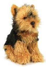 Anna Club Plush Yorkshire Terrier, 26cm