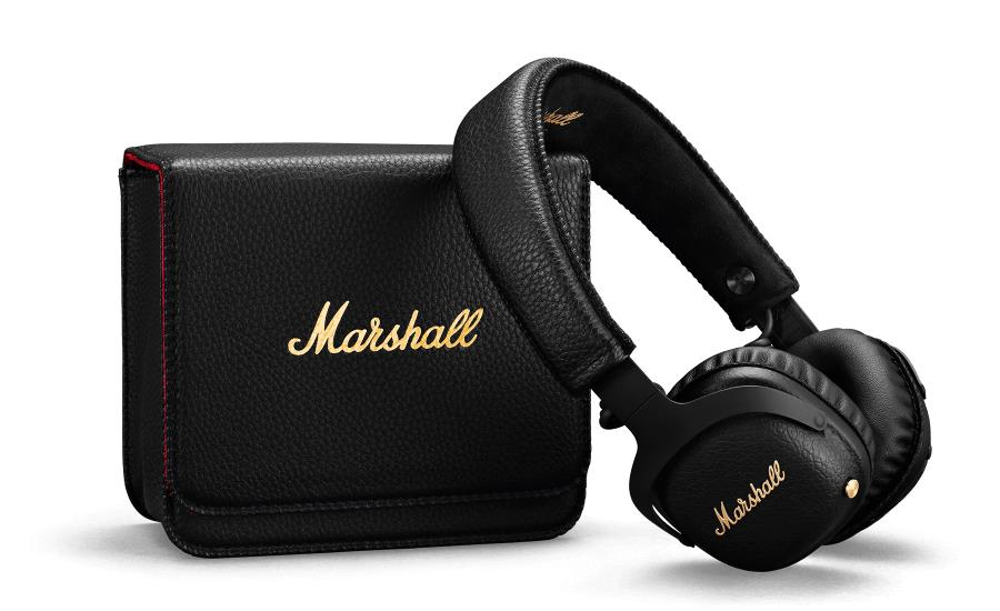 Marshall Mid A.N.C. Black (Bluetooth aptX, 20h Battery Life, Foldable, Built-in Microphone) (04092138) austiņas