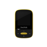 Sandisk CLip Sport Player mp3 8GB, yellow, microSDHC, Radio FM, color display MP3 atskaņotājs