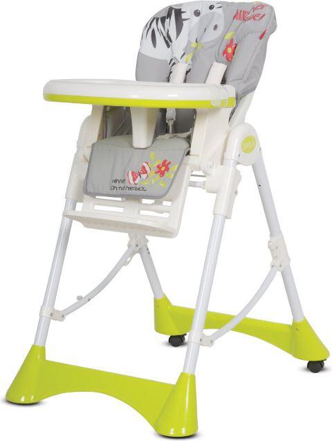 EURO-CART Krzeselko do karmienia Baila Zebra 3400 bērnu barošanas krēsls