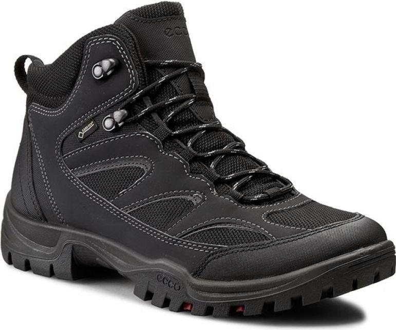 Ecco Buty meskie Xpedition III GTX czarne r. 42 (81116453859) 81116453859 Tūrisma apavi