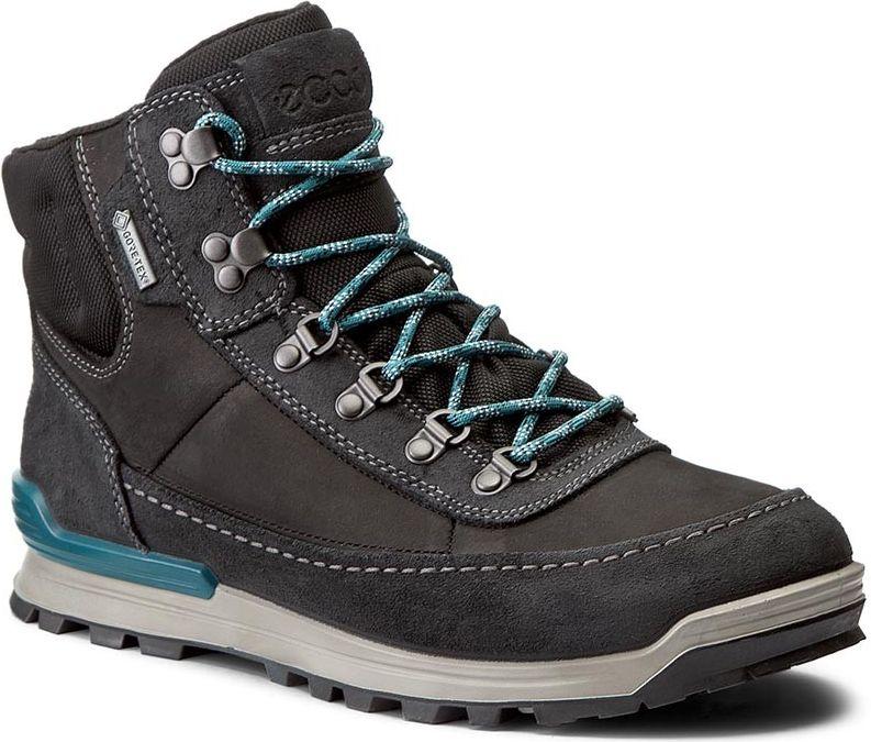 Ecco Buty meskie Oregon czarne r. 41 (82600451052) 82600451052 Tūrisma apavi