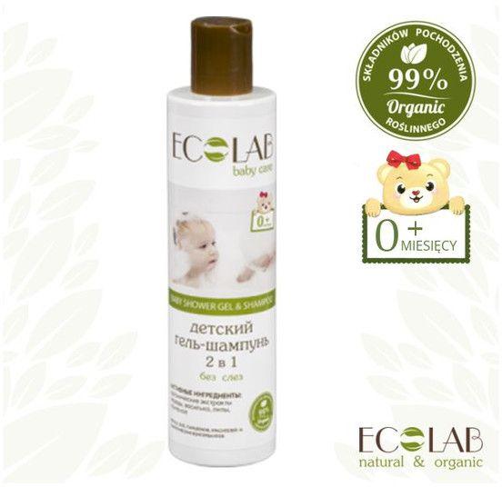 EO Laboratorie Baby Szampon i zel pod prysznic dla dzieci 0+ (3431363) 250ml 3431363