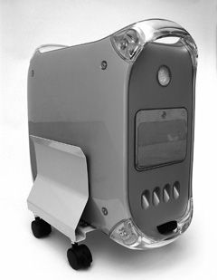 Heavy duty CPU holder (grey) biroja tehnikas aksesuāri
