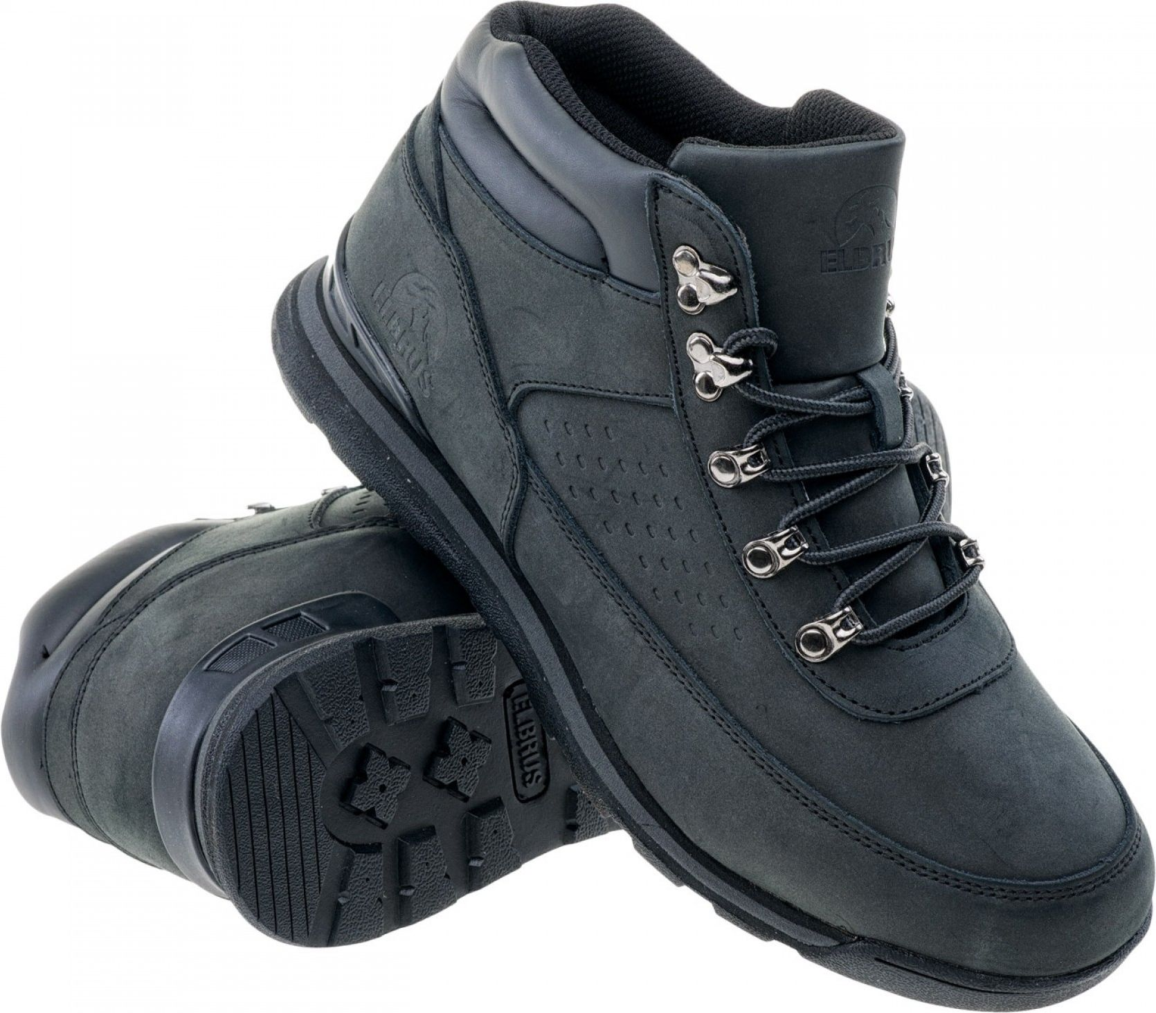 Elbrus Buty meskie Kalem Mid Black r. 42 5902786063598 Tūrisma apavi