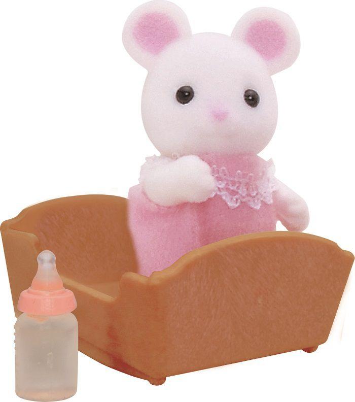 Dziecko bia ych Mouseek bērnu rotaļlieta