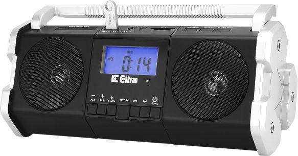 Eltra Radio MAJA black-silver radio, radiopulksteņi