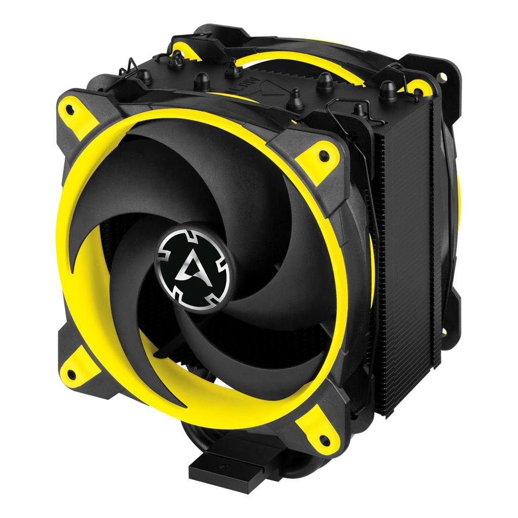 Arctic Freezer 34 eSports DUO - Yellow, CPU cooler, s.1151,1150,1155,1156,AM4 procesora dzesētājs, ventilators