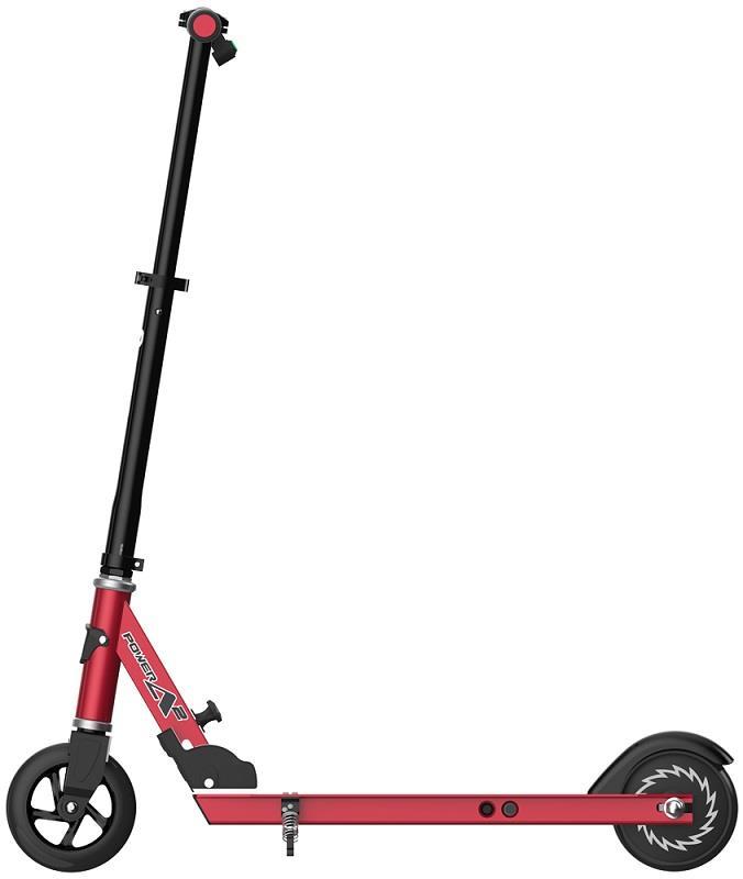 Razor Power A2 Electric Scooter - Red/Black Elektriskie skuteri un līdzsvara dēļi