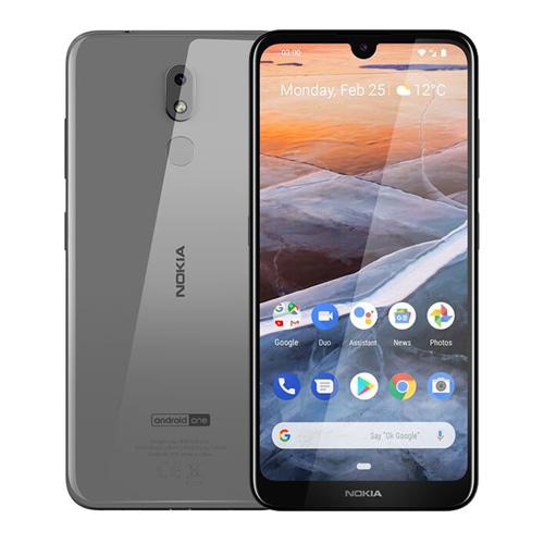 Nokia 3.2 Dual SIM 16GB TA-1156 Steel Mobilais Telefons
