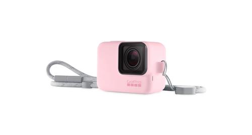 GoPro Sleeve & Lanyard Pink Sporta kameru aksesuāri