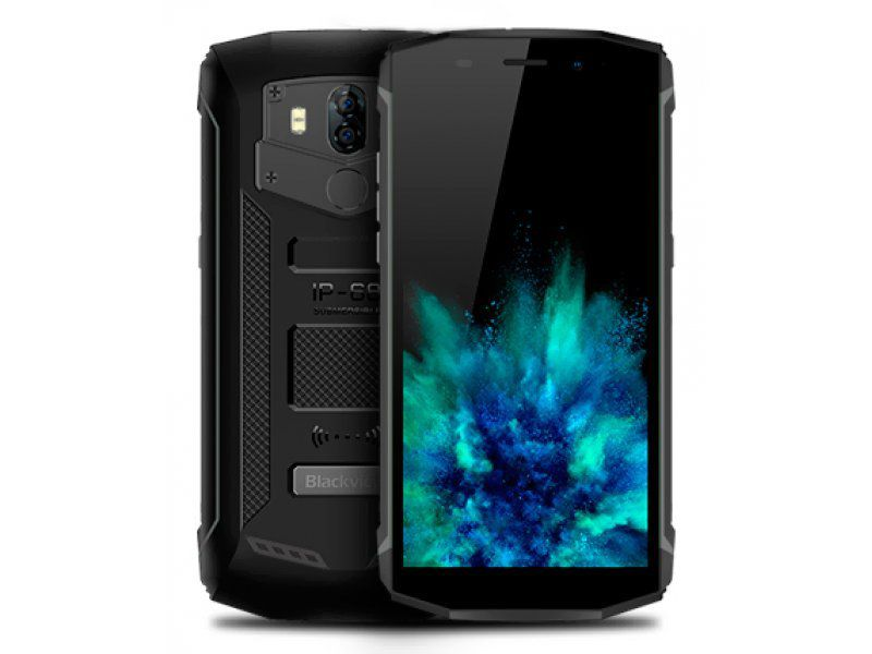 Blackview BV5800 Pro 2/16GB  Black Mobilais Telefons