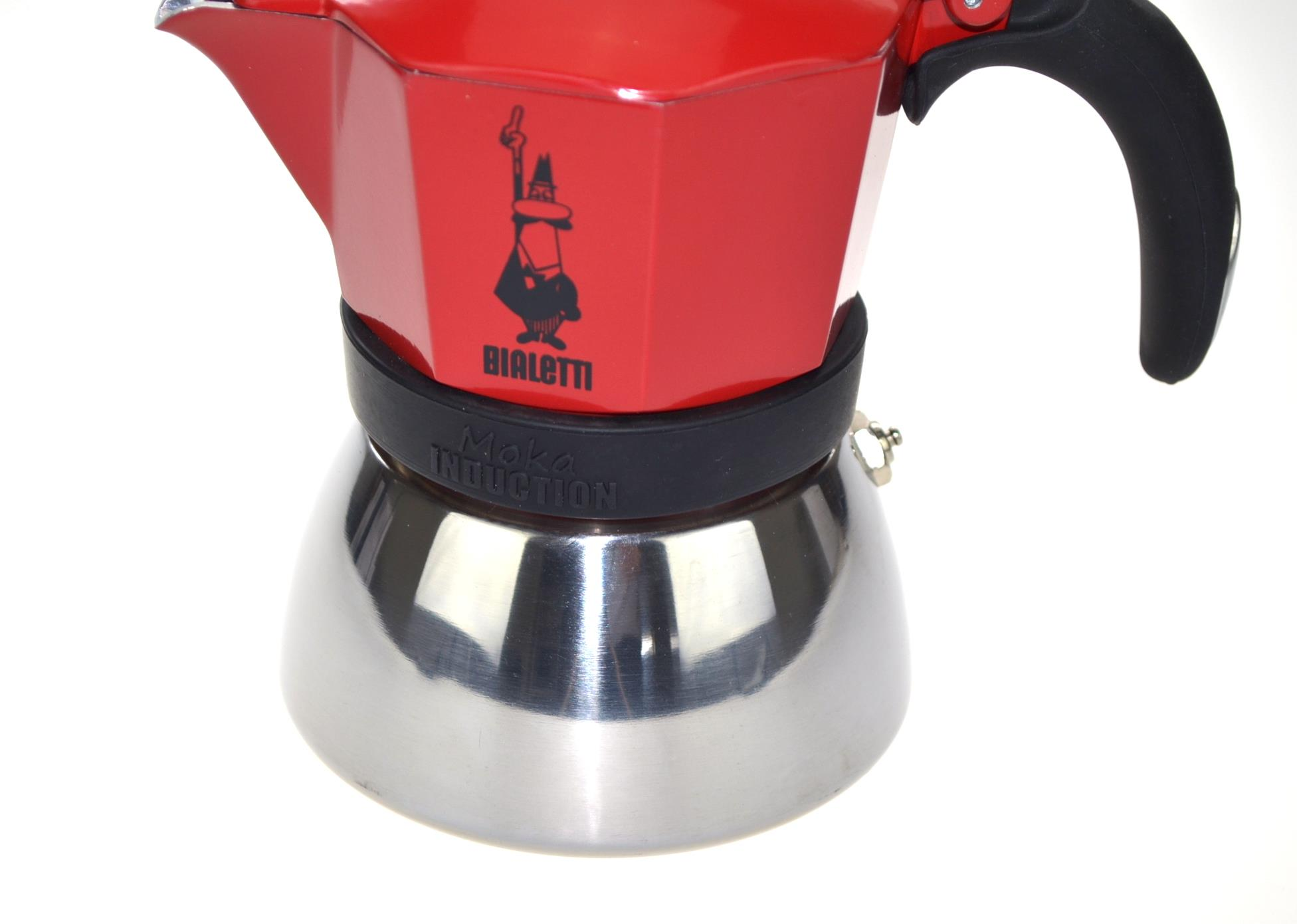 BIALETTI Moka pot  Moka Induction (red color) Kafijas automāts