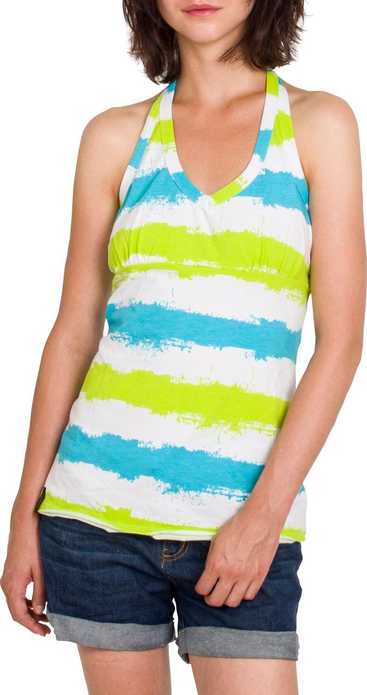 Woox Bawelniana Koszulka Damska z Nadrukiem | Kolorowa Stripy Vest - Stripy Vest 40 - 40 8595564757573
