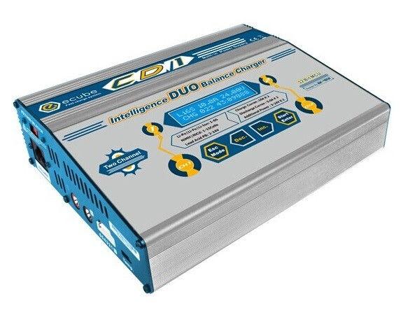 Ładowarka 2-kanałowa Vista Power CD1 2x100W z zasilaczem VP/CD1