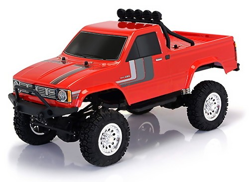 Thunder Tiger TOYOTA HILUX 1/12 4WD 2.4GHz Pick-up RTR - Red TT/6603-F131-A2