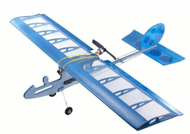 Airplane CUCKOO Balsa KIT (wingspan 580mm) DW/ECUC-01A