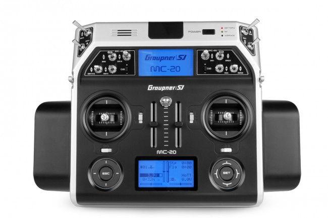 Aparatura MC-20 HoTT 2.4GHz 12CH (odbiornik GR-16, interfejs USB, pulpit, walizka, akumulator, ładowarka) GRA/33020.16