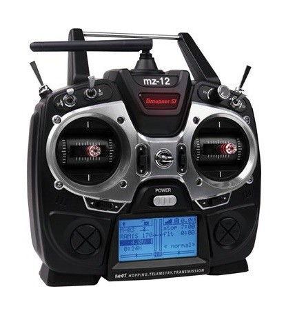 MZ-12 HoTT transmitter 2.4GHz + receiver GR-12L GRA/S1002.12