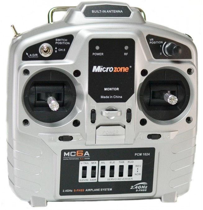 Aparatura MC6A 6CH 2.4GHz + odbiornik E6-A SM/MC6A