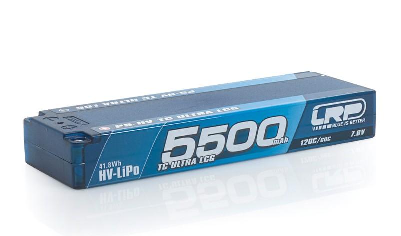 5500mAh 7.6V (2S) 120C/60C Hardcase LRP P5-HV TC Ultra LCG GRAPHENE LRP/430252