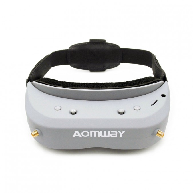 Gogle Aomway Commander V1 3D (5.8GHz, 40CH, 854x480, FOV32, DVR) AOM/COM_V1