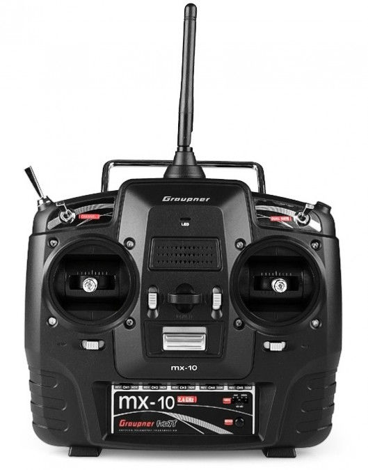 MX-10 HoTT 2.4GHz 5CH (1 odbiornik, akumulator, ładowarka) GRA/33110
