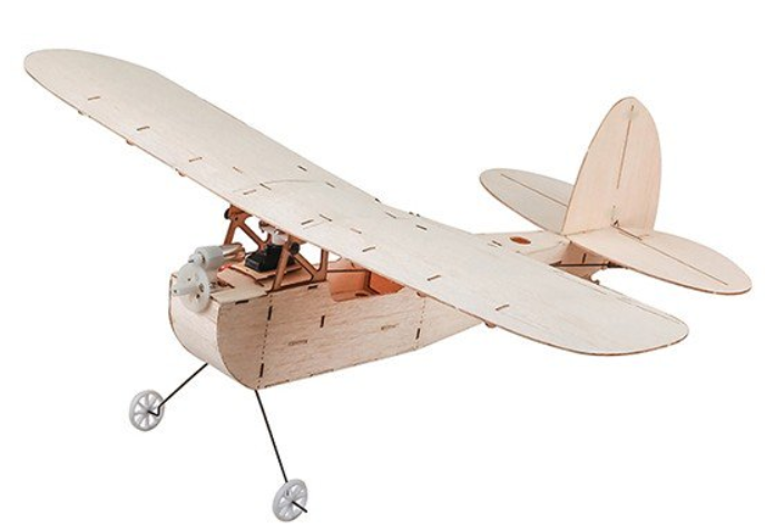 Micro GALILEO with engine and propellers, Balsa DW/EBK2-02