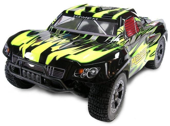 Mega Mayhem Brushless 1:8 4WD 2.4GHz RTR HI/MegaE8SCL
