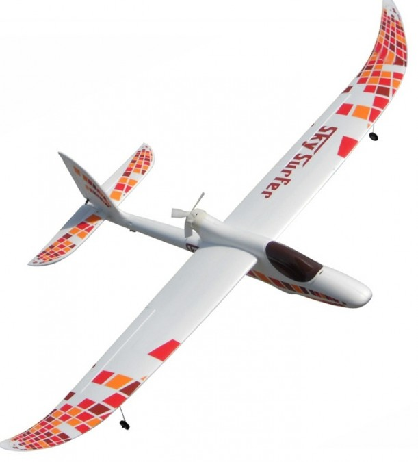 Sky Surfer 2M 4CH FPV RTF (200cm wingspan, regulator 30A, brushless engine, LiPo battery) LY-S08-RTF