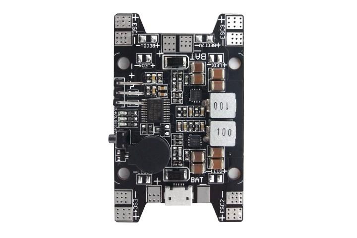 Power board SkyRC z BEC 12V i 5V, USB, Alarm, LED SK-600097-02
