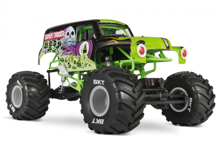 Axial SMT10 Grave Digger Monster Jam Truck 1:10 4WD ARTR AX90055