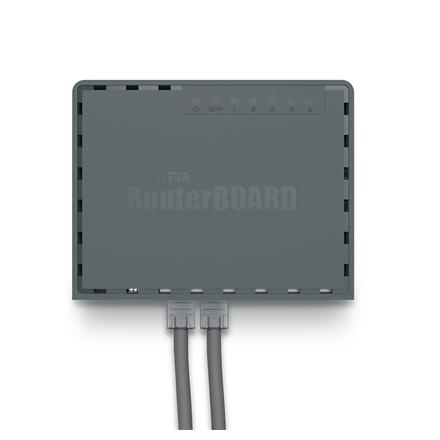 MikroTik hEX S RB760iGS 10/100/1000 Mbit/s, Ethernet LAN (RJ-45) ports 5, USB ports quantity 1 2000001011881 komutators