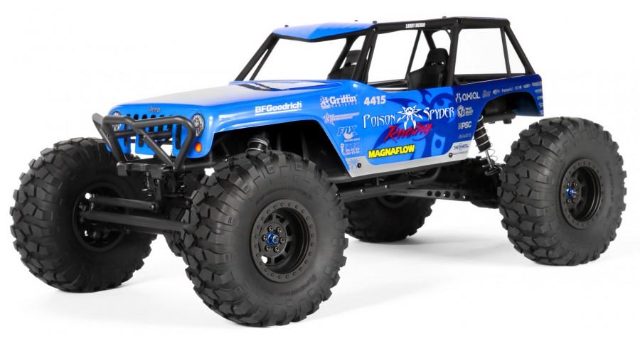 Axial Jeep Wrangler Wraith-Poison 1:10 4WD ARTR AX90031