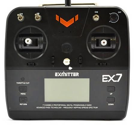 Exmitter EX7 7CH 2.4GHz + odbiornik EAR711 TW/EX7