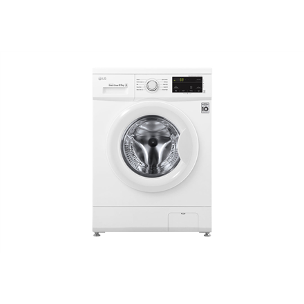 LG Washing Machine FH2J3WDN0 Front loading, Washing capacity 6.5 kg, 1200 RPM, Direct drive, A+++, Depth 44 cm, Width 60 cm, White, LED, Veļas mašīna