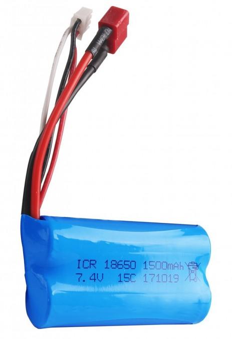 1500mAh 7.4V Li-Ion T-Dean NQD NQD/4wd12B-30