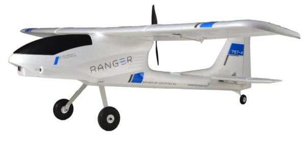 757-4 RC Ranger FPV RTF (1400mm wingspan) TW/757-4-BL