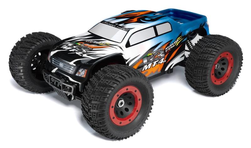Thunder Tiger MT4 G3 1/8 4WD 2.4GHz Monster Truck RTR Brushless - F112 TT/6401-F112