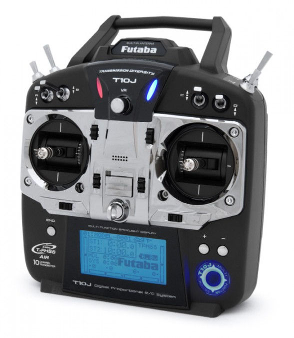 T10J transmitter  10CH 2.4GHz T-FHSS + receiver R3008SB FB/T10JS
