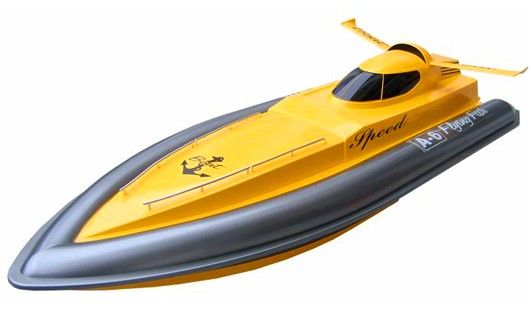 Motorboat Double Horse 7006 27MHz RTR - Yellow DH/7006